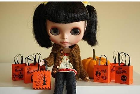 Blythe_doll_halloween_pumpkins