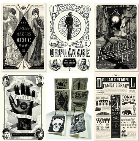 The dollar dreadful family library bazaarium