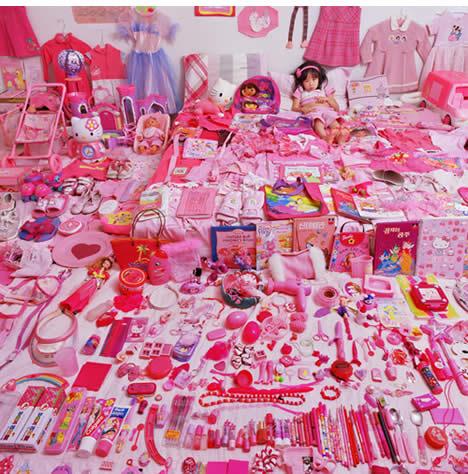 Jeongmee yoon pink project 1