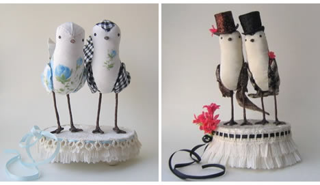 Ann wood cake toppers grooms