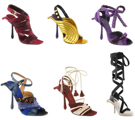 Marc jacobs spring 2009 shoes