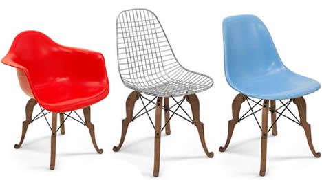 Modernica peter shire prince charles chair