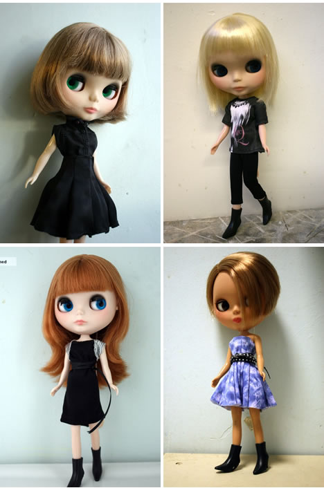 Mcq alexander mcqueen for target blythe doll 1