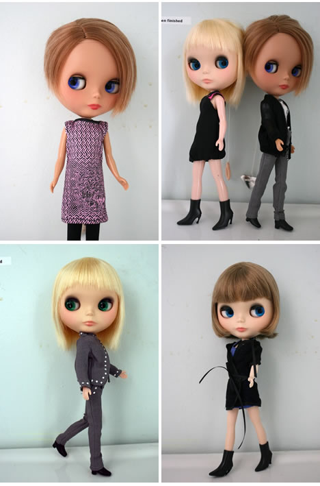 Mcq alexander mcqueen for target blythe doll 2