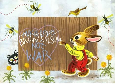Andrew brandou me myself and i grafitti bunny