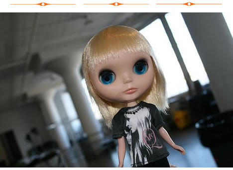 Mcq alexander mcqueen for target blythe doll models