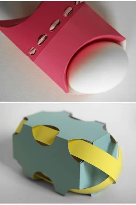 Jeffery Rudell easter egg modern design packaging