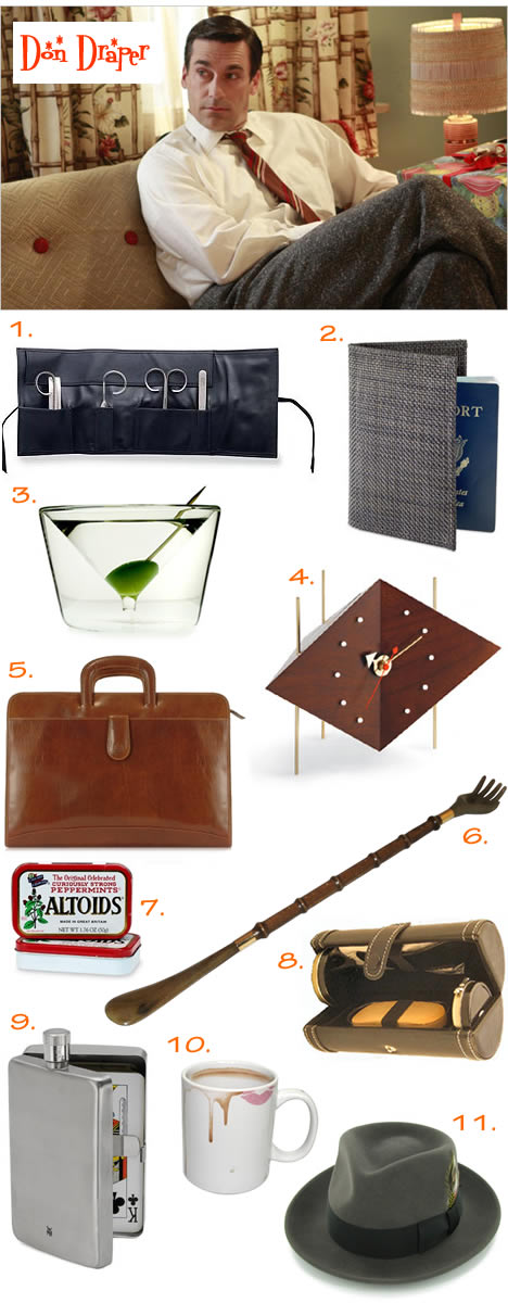 Fathers day gift guide don draper_