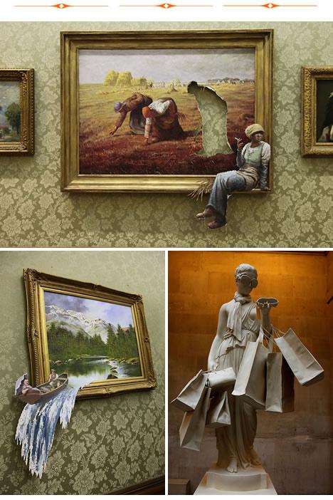 Banksy versus bristol museum smoking break