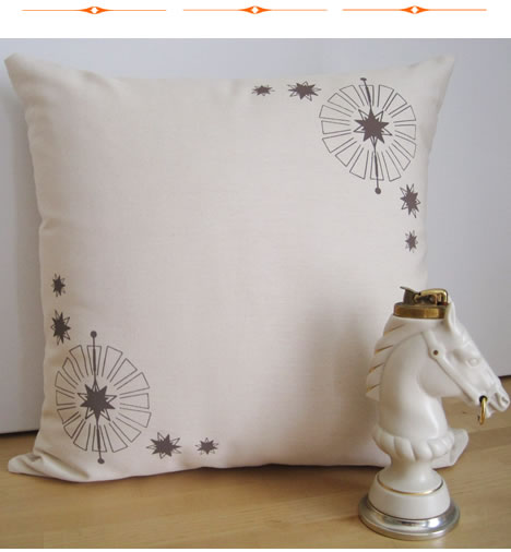 Organic humble collection pillows starburst