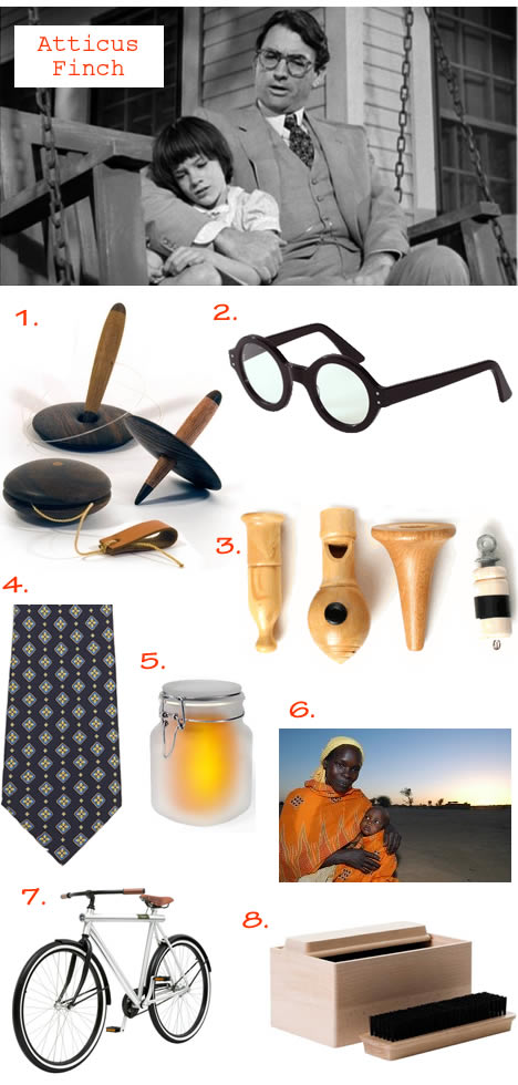 Fathers day gift guide atticus finch