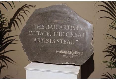 Banksy versus bristol museum picasso
