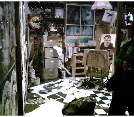 Bansky versus bristol museum workspace