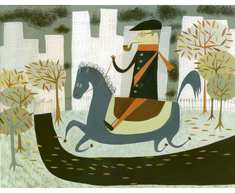 Ride through central park matte stephens
