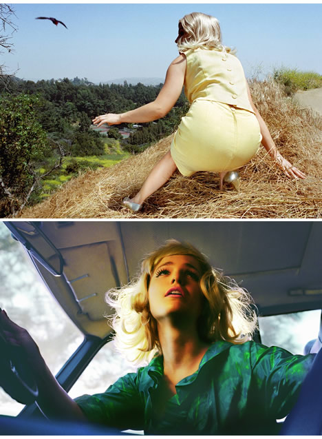 Alex prager photography big valley 2008 polyester
