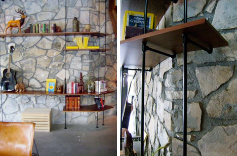 Ace_hotel_mid_century_stone_wall_shelving_unit