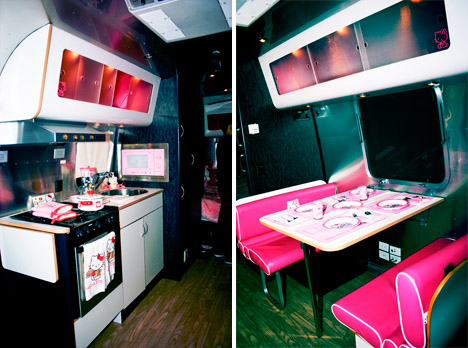Hello_kitty_airstream_RV_kitchen_dining_booth
