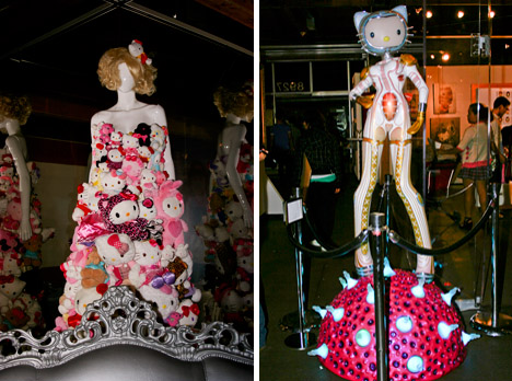 Cosmic_kitty_colin_christian_lady_gaga_gown_hello_kitty