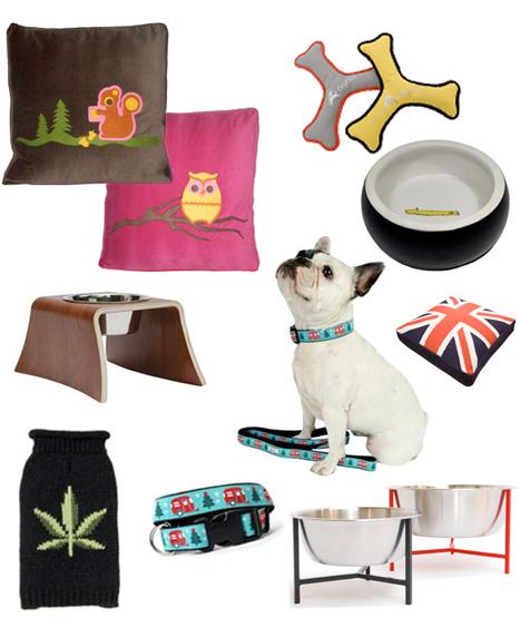 Modern_dog_accessories_adler_holder_feeder_georgesf_decaf_plush_y_bowl_doca