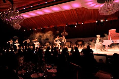 Lady Gaga at MOCA with Bolshoi dancers
