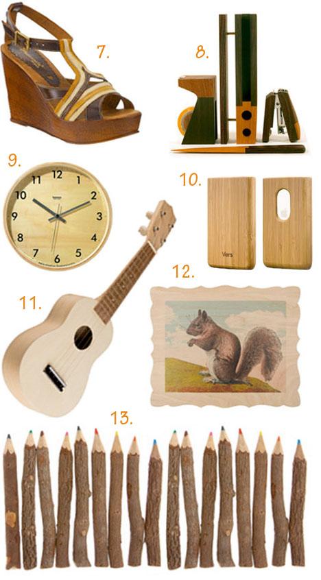 Wood_desk_set_iphone_case_twig_pencils