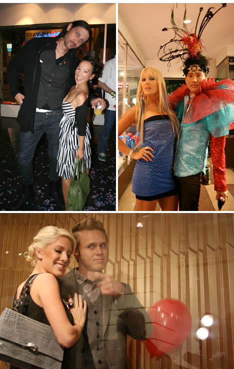 Santino_rice_heidi_montag_spencer_pratt_political_art_show_hollywood