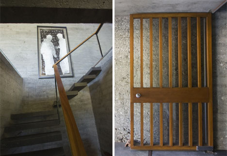 Hillside_house_stairs_carl_louis_maston_1962