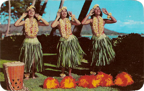 Hula_Maidens_waikiki_vintage_postcard_hawaii_vacation