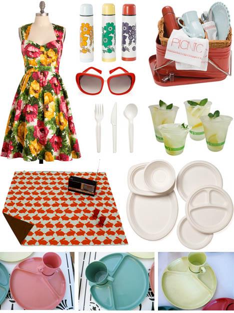 Vintage_picnic_plates_biodegradable_plates_eco_friendly_utensils