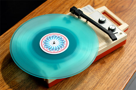 Dan_stiles_colored_green_vinyl_record