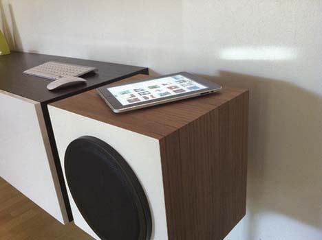 Mid-century-speakers_DIY_Wireless_Audio_ System