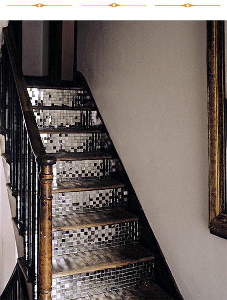 Disco_staircase_mirrored_stairs_Polly_Wreford