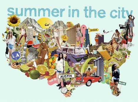 Ciara_Phelan_summer_in_the_city_vintage_collage_art