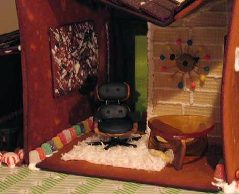 Mid-Century_Modern_Gingerbread_House_retro_eames_shag_rug
