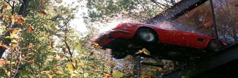 Ben Rose home sale Ferris Buellers Day Off Red Ferrari window