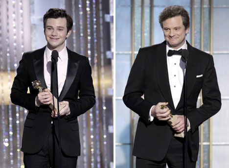 Chris_Colfer_glee_colin_firth_golden_globes_fashion