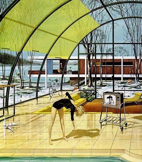 Exercise_room_motorola_vintage_mid_century_modern_dream_house_1962