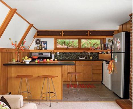 Julia_a_frame_house_Bethlehem_New_Hampshire_ktichen