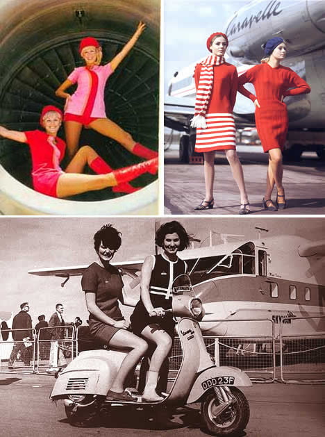 Vintage-flight-attendants-psa-60s