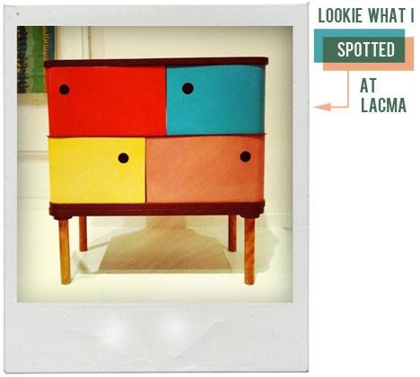 Lacma Henry Glass Swingline Cabinet Fleetwood Furniture 1951