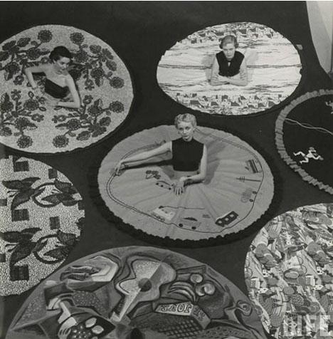 Conversation-skirts-skirt-circle-vintage-nina-leen-life-magazine
