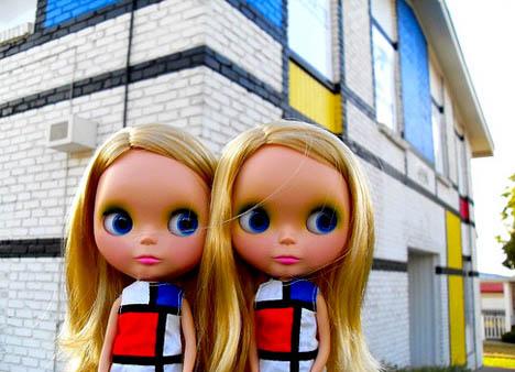 Ysl-mondrian-dress-blythe-doll