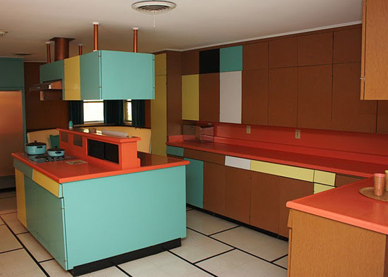 Plastic-wilson-house-texas-formica-laminate-museum-kitchen-cabinets