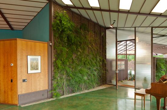 Rodney-Walker-Residence-mid-century-house-ojai-california-plant-wall
