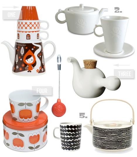 Modern-tea-set-skull-Marimekko