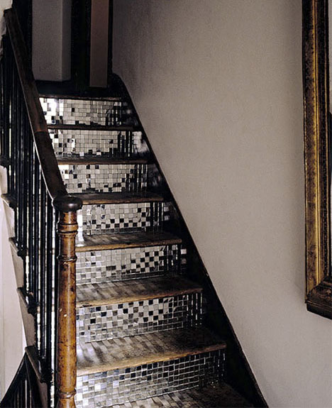 Mirrored-staircase-polly-wreford-disco