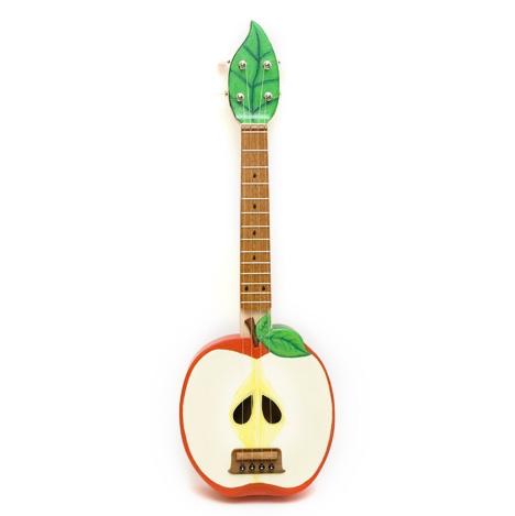 Apple-ukulele-celentano-woodworks