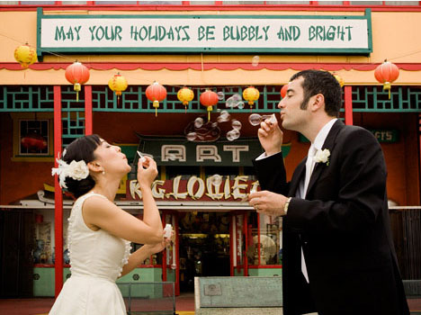 Chinatown-wedding-bubbles-los-angeles