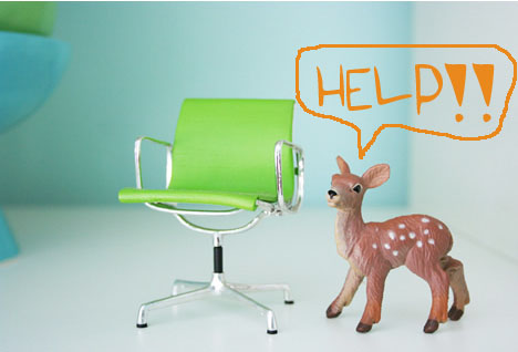 Mini-apple-green-eames-chair