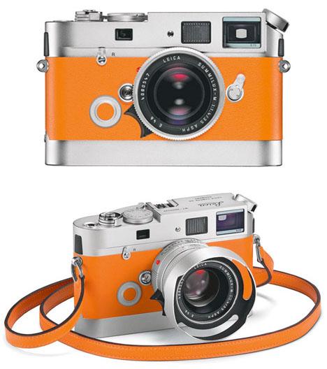 Orange-leica-m7-camera-hermes